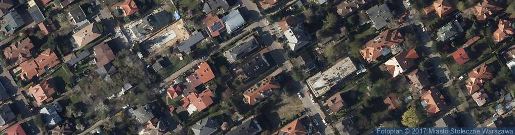 Zdjęcie satelitarne Piechoty Łanowej ul.