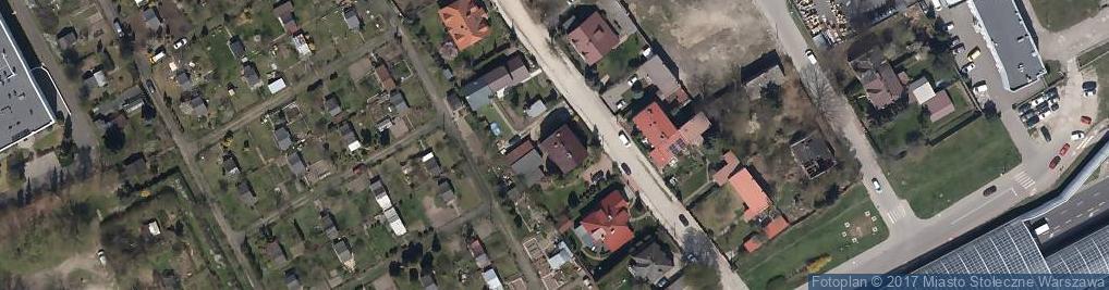 Zdjęcie satelitarne Pisankowa ul.