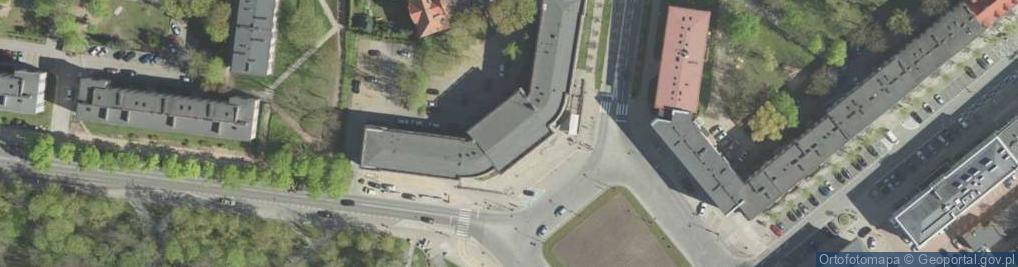 Zdjęcie satelitarne Plac Niezależnego Zrzeszenia Studentów pl.