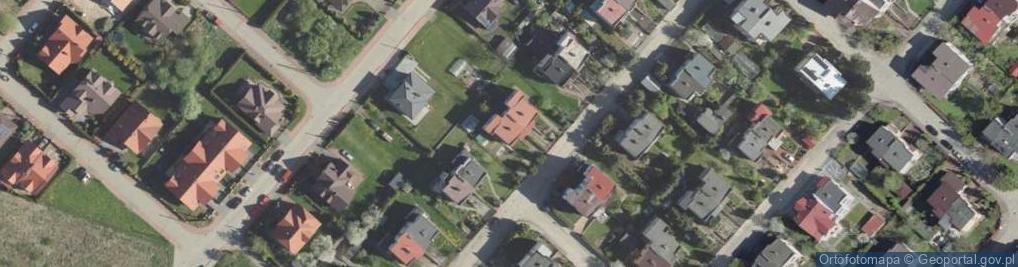 Zdjęcie satelitarne Planetarna ul.