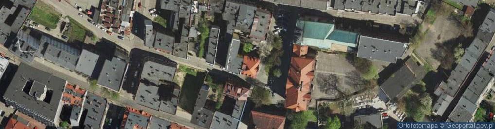 Zdjęcie satelitarne Plac Klasztorny pl.