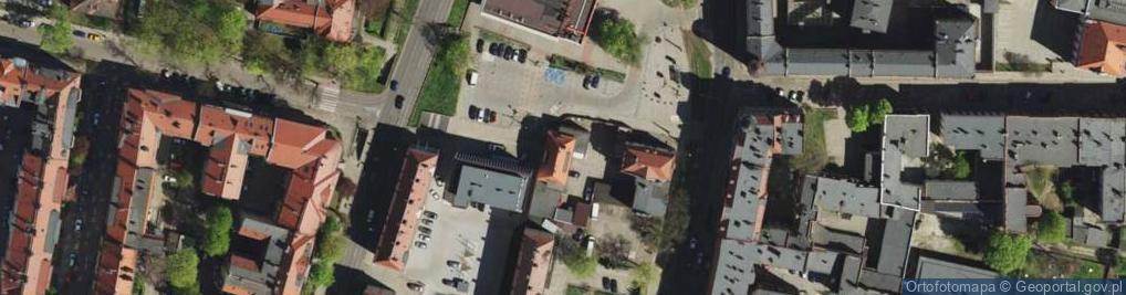 Zdjęcie satelitarne Plac Kruczkowskiego Kazimierza pl.