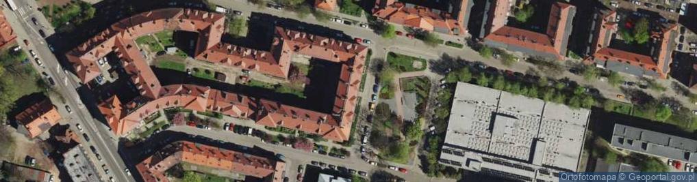 Zdjęcie satelitarne Plac Rodła pl.