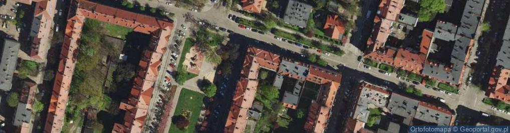 Zdjęcie satelitarne Plac Słowiański pl.