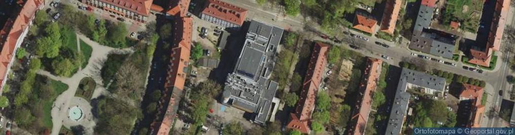 Zdjęcie satelitarne Plac Stanek Karin pl.