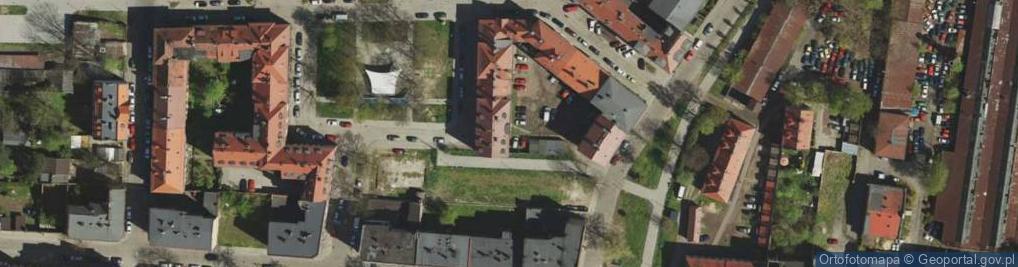 Zdjęcie satelitarne Plac św. Barbary pl.