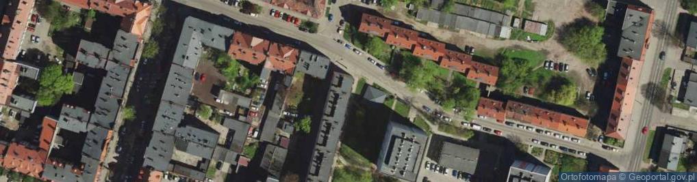 Zdjęcie satelitarne Plac Wojska Polskiego pl.