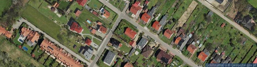 Zdjęcie satelitarne Planeta ul.