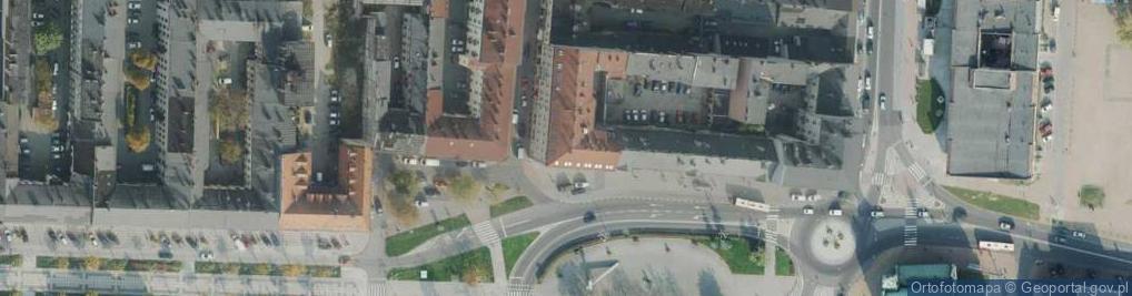 Zdjęcie satelitarne Plac Daszyńskiego pl.