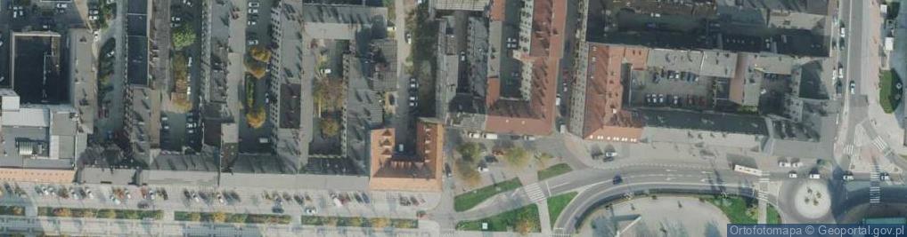 Zdjęcie satelitarne Plac Daszyńskiego Ignacego pl.