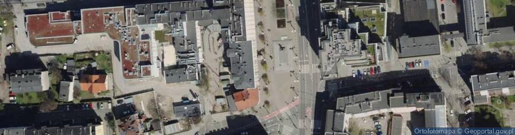 Zdjęcie satelitarne Plac Kaszubski pl.