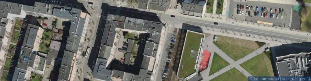Zdjęcie satelitarne Plac Grunwaldzki pl.