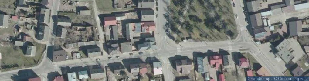 Zdjęcie satelitarne Plac Jana Pawła II pl.