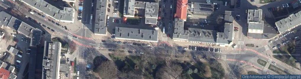 Zdjęcie satelitarne Plac 18 Marca pl.