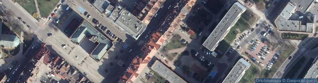 Zdjęcie satelitarne Plac Ratuszowy pl.