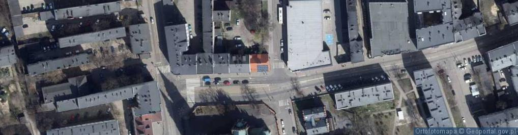 Zdjęcie satelitarne Plac Kościelny pl.