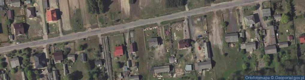 Zdjęcie satelitarne Plizin ul.