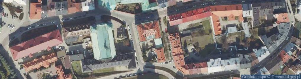 Zdjęcie satelitarne Plac Czackiego Tadeusza pl.