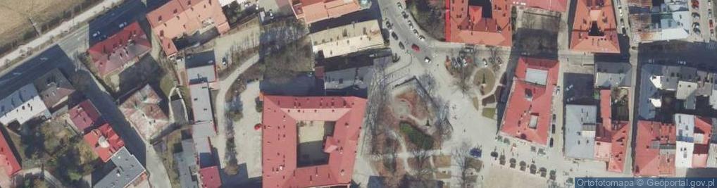 Zdjęcie satelitarne Plac Dominikański pl.