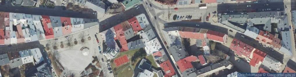 Zdjęcie satelitarne Plac na Bramie pl.
