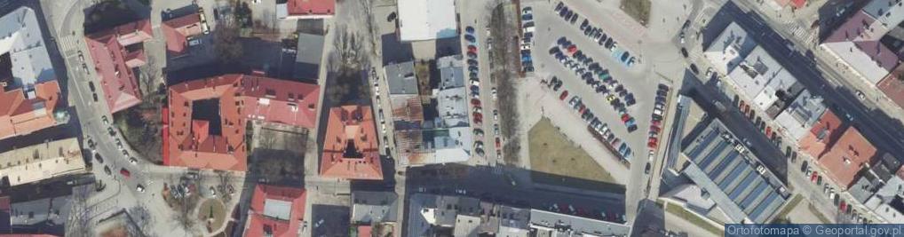 Zdjęcie satelitarne Plac Rybi pl.