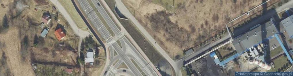 Zdjęcie satelitarne Plater Emilii ul.