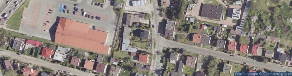 Zdjęcie satelitarne Planowa ul.