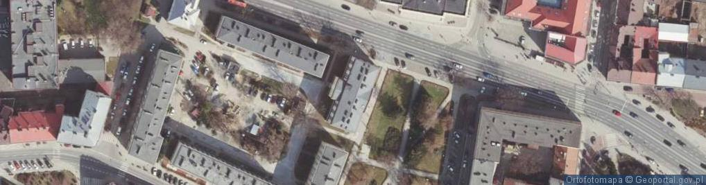 Zdjęcie satelitarne Plac Ofiar Getta pl.