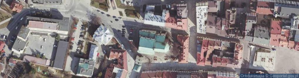 Zdjęcie satelitarne Plac Farny pl.