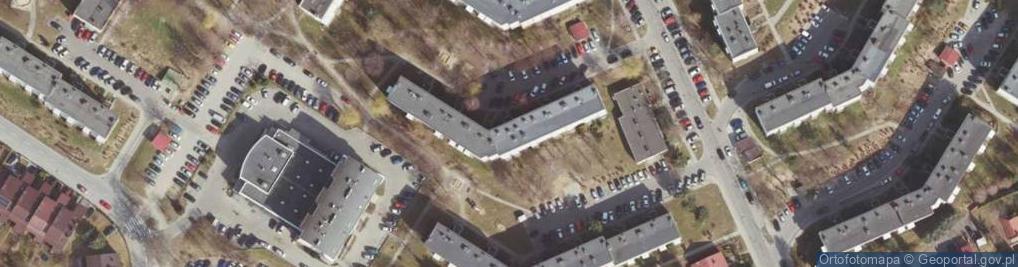 Zdjęcie satelitarne Pleśniarowicza Jerzego ul.