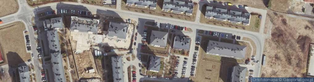Zdjęcie satelitarne Plenerowa ul.