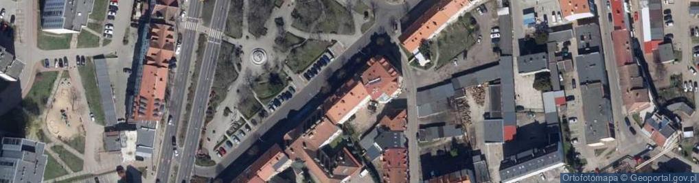Zdjęcie satelitarne Plac Przyjaźni pl.