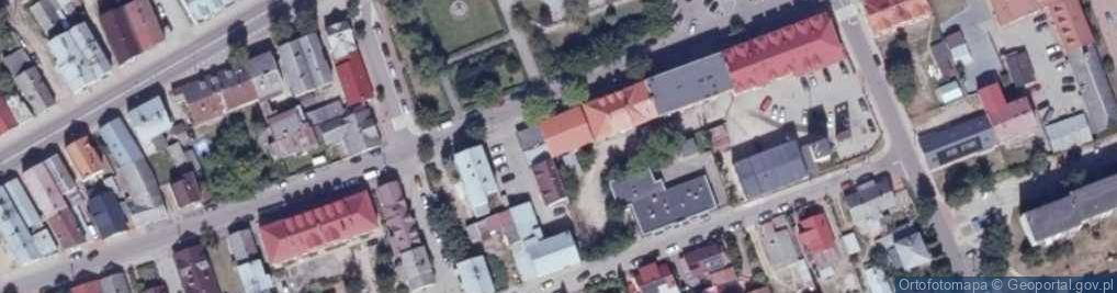 Zdjęcie satelitarne Plac Kościuszki Tadeusza, gen. pl.