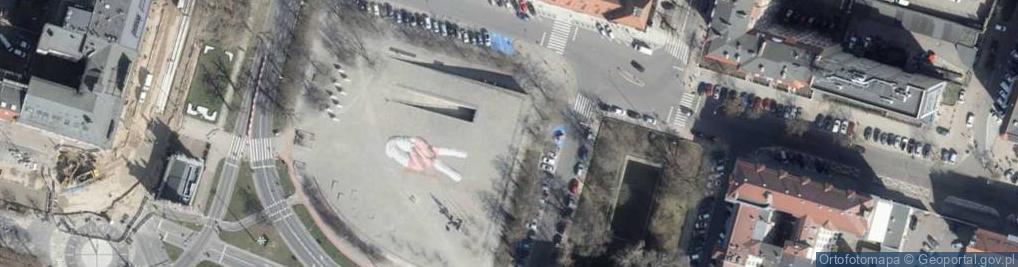 Zdjęcie satelitarne Plac Solidarności pl.