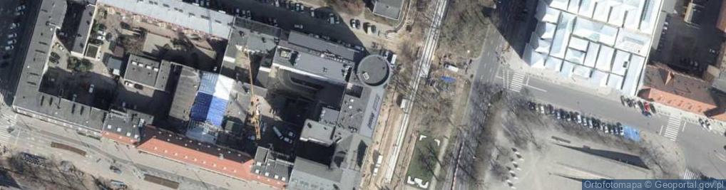 Zdjęcie satelitarne Plac Hołdu Pruskiego pl.