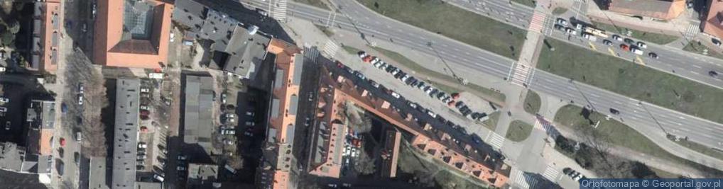 Zdjęcie satelitarne Plac Żołnierza Polskiego pl.