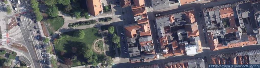 Zdjęcie satelitarne Plac Rapackiego Mariana pl.