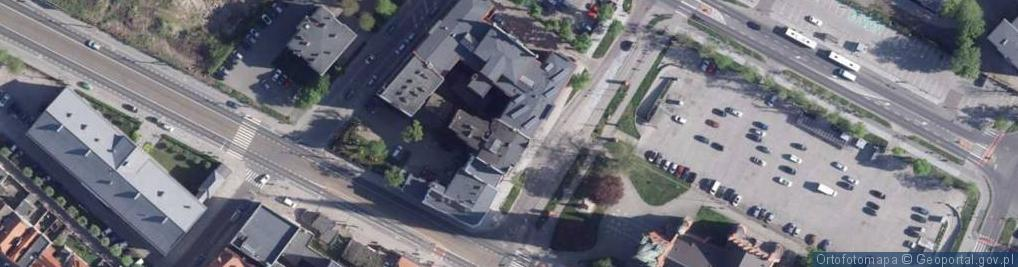 Zdjęcie satelitarne Plac św. Katarzyny pl.