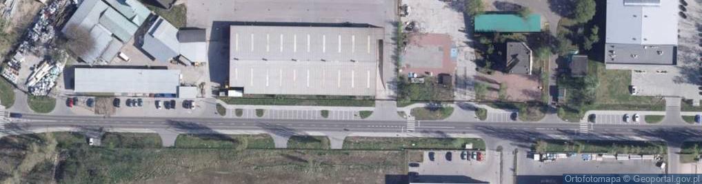 Zdjęcie satelitarne Płaska ul.