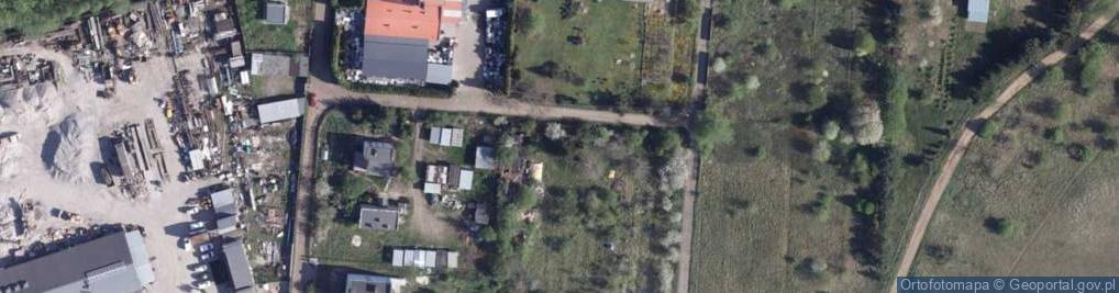 Zdjęcie satelitarne Platanowa ul.