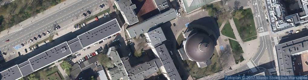 Zdjęcie satelitarne Plac Małachowskiego Stanisława pl.