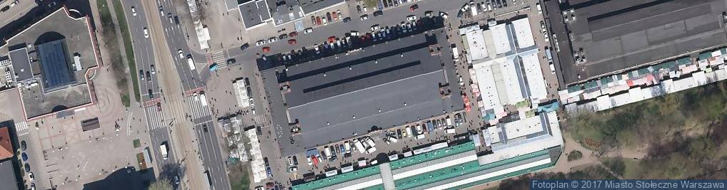 Zdjęcie satelitarne Plac Mirowski pl.