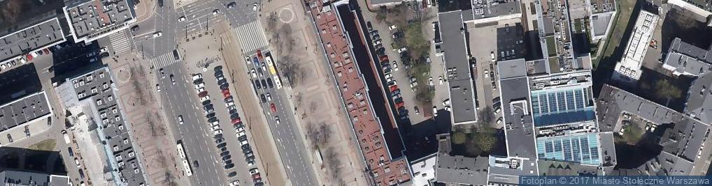 Zdjęcie satelitarne Plac Konstytucji pl.