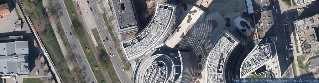 Zdjęcie satelitarne Plac Europejski pl.