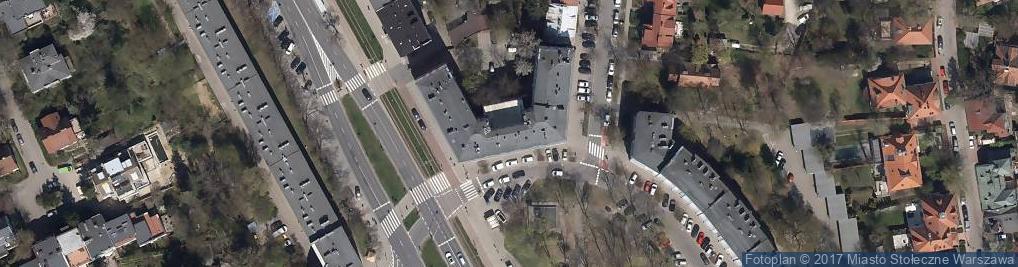 Zdjęcie satelitarne Plac Inwalidów pl.