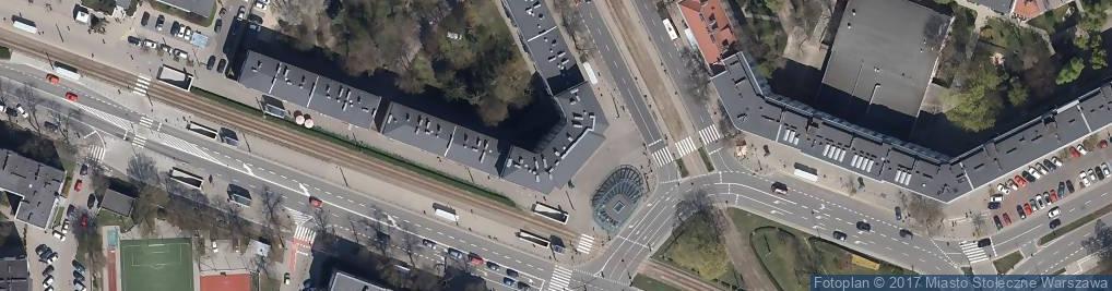 Zdjęcie satelitarne Plac Wilsona Thomasa Woodrowa pl.