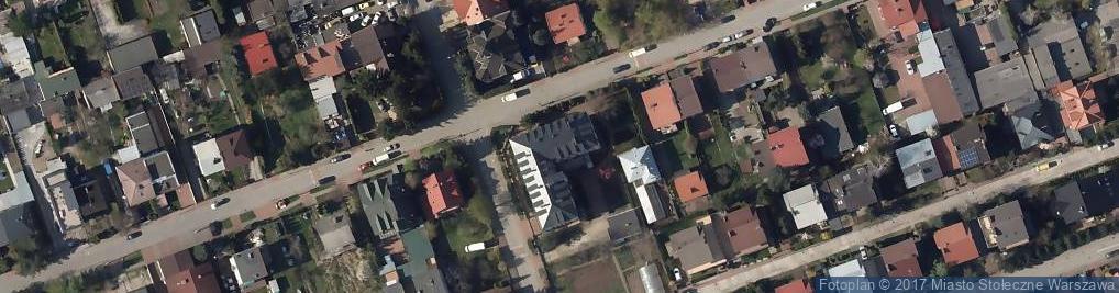 Zdjęcie satelitarne Płońska ul.