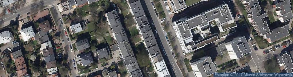 Zdjęcie satelitarne Plac Przymierza pl.