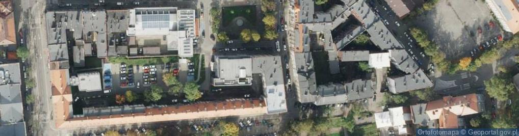 Zdjęcie satelitarne Plac Krakowski pl.