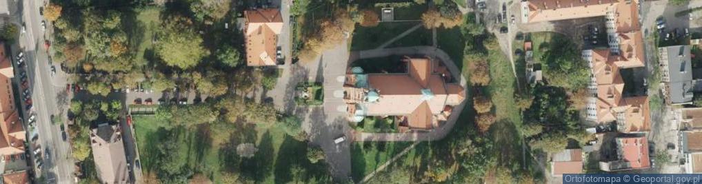 Zdjęcie satelitarne Plac Pieruszki Franciszka, ks. pl.